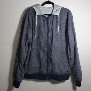 Levi's Men's Reversable Jacket Windbreaker L
